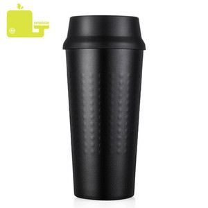Oneisall 330ml Thermos Cup Leakproof Vaccum Flasks Thermos Bottle Insulated Mug For Car Office Portable Thermal Mug Water Bottle Q190430