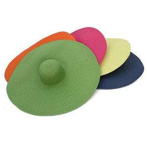 Fashion Summer Big Brim Sun Hat Anti-UV Sun Protection Straw Cap Women Summer Straw Beach Hat