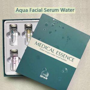 Eau de sérum pour le visage Aqua Oxgen Oxym (petite bulle) Essence 20g / bouteille Sérum pour le visage Hydra pour peau normale à usage de salon