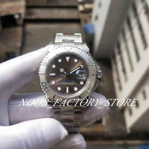 GM Fábrica de luxo 40MM 904L Aço relógios automáticos Cal.3135 Movimento Assista Homens Yacht 116622 suíços ETA à prova d'água pulso Mens Relógios