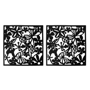 Fashion 4 Pcs Butterfly Bird Flower Hanging Screen Partition Divider Panel Room Curtain Home Decor