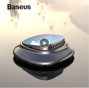 Baseus Alaşım Araba Oda Parfümü Parfüm Parfüm Oto Aroma Yayıcı Aromaterapi Katı Hava Çıkışı Pano Parfüm Tutucu