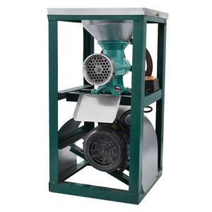 2.2kw High Power Commercial Electric Fleisch Mühle Machine Mincer Heavy Duty Metall Hühnerskelett Knochenschleifmaschine 1400r / min 220V