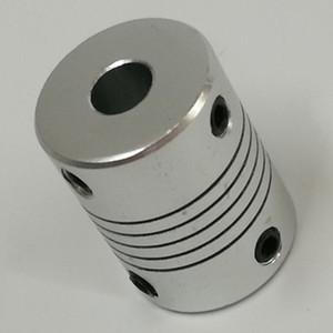 Aluminum Alloy Flexible Shaft Couplings CNC Stepper Motor Shaft Coupler D19*L25 Winding Encoder Coupling Inner Diameter 3-10 mm