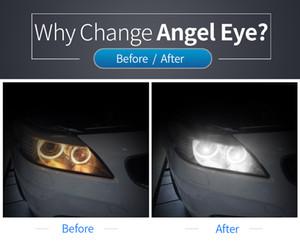 BMW Angel Eyes 3/5/7 Serisi E92 E82 E93 H8 120W BMW Angel Eyes 6 yüzeyde