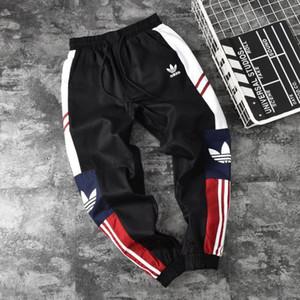 Pantalons pour hommes Pantalons de survêtement pour femmes Marque Black et Khaki Vente chaude Casual Couple Pant Pantalon Actif Jogger Lettre Imprimer Vêtements 2019 Été