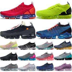 2018 2019 Chaussures Moc 2 Vapors 2,0 Knit 1,0 Herren Laufschuhe Triple Black Weiß Run 3.0 Frauen-Sport-Turnschuh-Kissen-Trainer Schuhe