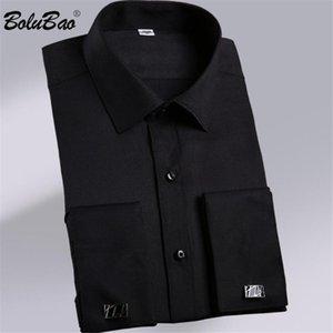 BOLUBAO Brand Men Business Casual Shirts Sleeve Male Stylish Simplicity Stripe Shirt Men's Loose Comfortable Top