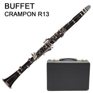 Французский Buffet Crampon R13 Bb кларнет 17 ключей бакелит Silver Key кларнет с футляром аксессуары Игры Музыкальных инструментов Бесплатной доставки