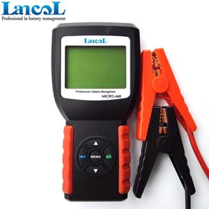 LANCOL MICRO-468 Auto-Batterie-Tester 12v SOH SOC CCA IR Kapazitäts-Batterie Last Tester für Blei-Säure, EFB, AGM, Gel-Batterien