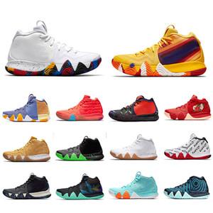 4 s Irving 4 Yıllar Paketi Mart Madness Erkekler Basketbol Ayakkabıları En Kaliteli Maymun Renkli Tasarımcı Atletik Spor Sneakers Sneakers