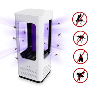 Photocatalytic Mosquito Assassino Lâmpada USB Powered Inseto Assassino Não-Tóxico UV Proteção Silencioso Adequado para Mulheres Grávidas e Bebês
