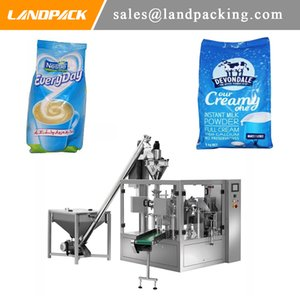 Multi-Function Automatic Bagged Milk Powder Spout Pouch Filling Machine Powder Rotary packing Machine Dedicated