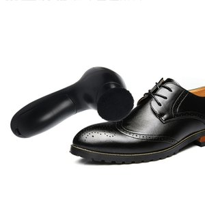 EYKOSI Handheld Automatic Electric Shoe Brush Shine Polisher 5AA Battery Power Supply