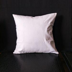 30 stücke blank white 8 unzen reiner baumwolle leinwand kissenbezug mit verstecktem reißverschluss plain white leinwand kissenbezug für DIY / benutzerdefinierte druck fabrik direkt