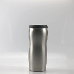12Oz Stainless Steel Tumbler Curved Cold Keeper Beer Bottle Insulation Cans Chiller Bucket Cooler Water Bottle A05