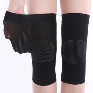 Mulheres respirável Knee Protector Fina Movimento tricô joelheiras Conjunto Leg Bainha Quente equitação do verão que funciona Voleibol Esportes Produtos 2 3zx A1