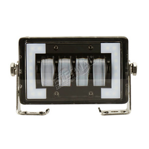 бесплатный корабль 2 шт. 40 Вт LED свет работы вождения туман автомобиля свет бар с белым DRL halo для 4x4 внедорожник внедорожник прицеп