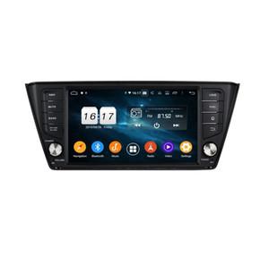 "DSP Android 9.0 Octa Çekirdek 1 dın 8"" Araba DVD GPS için Skoda Fabia 2015 2016 2017 2013 2014 agen Radyo GPS WIFI, Bluetooth, USB Ayna-link Passat"