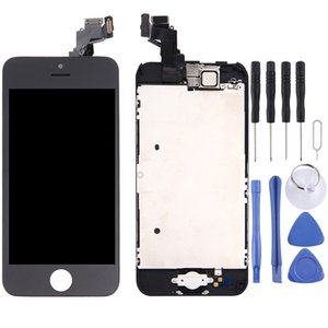 Digitizer Assembly (Front Camera + LCD + Frame + Touch Panel) for iPhone 5C