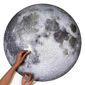 القمر الألغاز 1000 قطعة من الصعب على الكبار اللغز ألعاب القمر وهدايا الأرض الألغاز ألعاب تعليمية للأطفال للأطفال