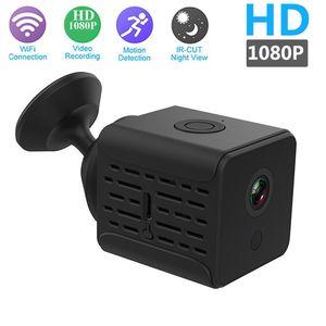 رؤية واي فاي البسيطة IP كاميرا W17 عالي الوضوح 1080p IR ليلة MINI DV كشف الحركة DVR الصفحة الرئيسية الأمن مراقبة مربية كام