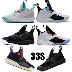 Scarpe da pallacanestro da uomo XXXIII PF 33 Future of Flight Utility Blackout Tech Pack 33s Scarpe da corsa Nero Fumo scuro Grigio Sneakers da vela