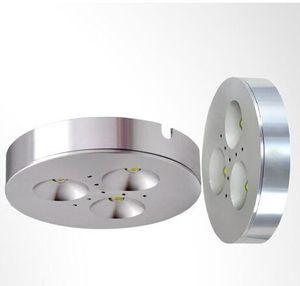 Супер яркий 6W Dimmable водить Puck свет 3x2W Cree Led Puck лампы 500lm водить кабинет лампочки AC110V / AC220V / AC230V