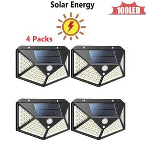 WholeSale Dropshipping solaire extérieur Lumière solaire Lampe Ampoule Portable énergie solaire lampe LED d'éclairage 4 côtés 270 ° champ d'éclairage