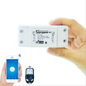 Sonoff 433Mhz Sonoff RF WiFi sans fil Smart Switch Accueil Avec récepteur RF à distance Lumière de contrôle intelligent synchronisation sans fil commutateur de commande