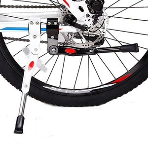 Bike Parking Rack Kickstand Mountain Bike Bicycle Cycle Prop Side Rear Kick Stand Bicycle Accessories bicycle feet tools LJJK2167