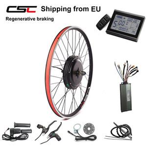 후륜 변환 키트 48V 1000W 브러시리스 기어리스 허브 모터 ebike 키트 ''EU 전기 자전거 (26)로부터 무료 세금 발송하지 않습니다