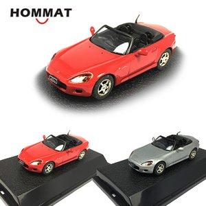 HOMMAT Simulação 1/43 Honda S2000 Convertible Veículo Sports Modelo Car Alloy Diecast Toy Collectable Model Car brinquedos para as crianças Y200317