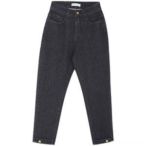 LEIJIJEANS New Arrival Spring harem casua loosel women Midwaist black retro loose plus size jeans for Women's Jeans Women's Clothing women 9