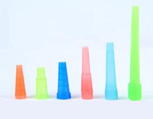 Dedo Hookah Shisha Teste Drip Tip Cap Tampa 510 de plástico descartáveis Bocal Boca Dicas saudáveis para E-Hookah Water Pipe Package Individual