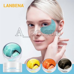 LANBENA Colágeno Cristal Eye Mask Anti Escuro Círculo Eliminar Eye Bag Hidratante Eye Patches Anti-rugas Hidratante Máscara 4 estilos
