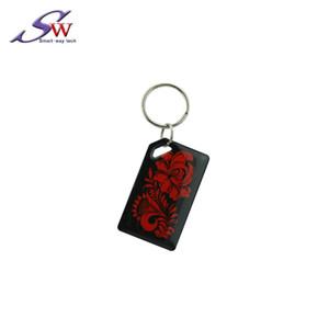 사용자 정의 로고 디자인 다채로운 수동 근접 방수 NFC 13.56 스마트 NTAG215 칩 RFID 에폭시 키 체인