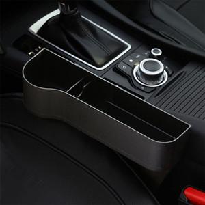 Universal Driver Side Car Boîte de rangement de siège de voiture Gap Catcher de remplissage Boîte de rangement bouteille Porte-Organisateur de poche