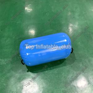 Großhandel aufblasbare Fitness Walze 1 * 0.6m aufblasbare Luft Fass für Gymnastik billiges aufblasbare Luft Tumbling Barrel