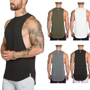 Nova do Reino Unido Stock Homens Gym Regatas Camouflage Sports Academia Vest camisa da roupa