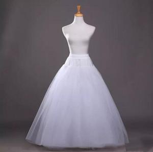 드레스를 들어 오간자 얇은 명주 그물 볼 가운 신부 페티코트 2019 4 층 웨딩 페티코트 새로운 댄스 착용