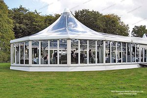 Glass tent outdoor event wedding high quality good price for sale TUV