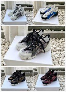 Dolce&Gabbana Dolce Gabbana Shoes Las mujeres 19SS Moda B21 B22 zapatillas de deporte Calcetines CONNECT florales zapatillas de deporte de la plataforma Botas Zapatos Pour Hommes