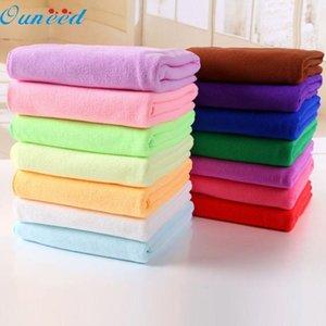 casa Ouneed feliz colorido 70x140cm absorvente microfibra secagem Banho Toalha de Praia T200117 Washcloth Duche