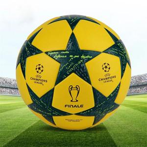 Muito boa qualidade campeão da liga bola de futebol oficial para o jogo tamanho profissional 5 treinamento de futebol pu padrão bola de futebol frete grátis