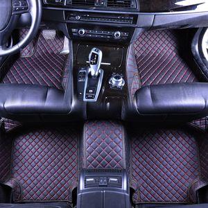 nouveaux tapis de sol de voiture pour A B C CL CLA CLS AMG CLK série 2006-2018 Customizabl