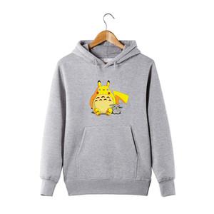 Hoodie Totoro Sweatshirts Pullover Funny Unisex Hoodie