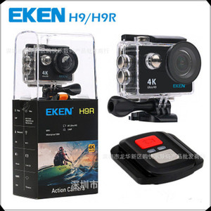 câmera ação deportiva Original EKEN H9 / H9R remoto Ultra 4K WiFi 1080P 60fps 2.0 LCD 170D esporte câmera Go Pro impermeável
