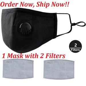 Seksi Yüz Maskeleri Anti-Dust, Duman, Gaz ve Alerjiler Ayarlanabilir ve Kullanımlık Yüz Ağız Koruma Kadınlar Man Çocuklar için 2 Filtreler PM2.5 ile