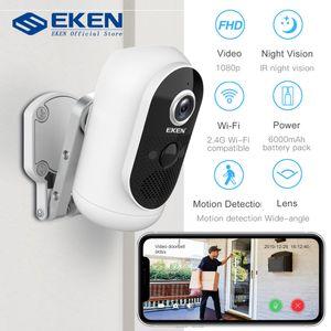 Camera IP65 WIFI resistente alle intemperie Motion Detection EKEN Astro 1080P batteria Wireless IP con pannello solare intelligenti camme